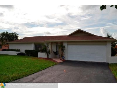 Coral Springs Single Family Home For Sale: 2714 NW 98th Ter