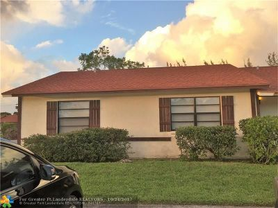 West Palm Beach Condo/Townhouse For Sale: 440 Glenwood Dr #440