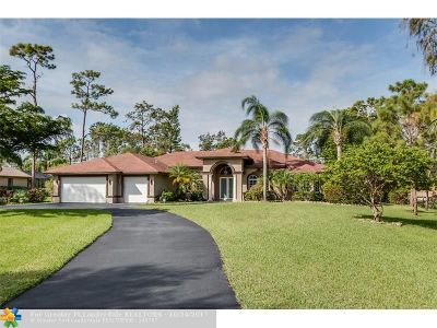 Parkland Single Family Home For Sale: 5887 NW 66th Wy