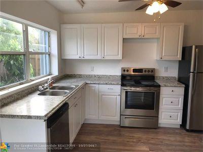 Oakland Park Single Family Home Backup Contract-Call LA: 5502 NE 1st Ter