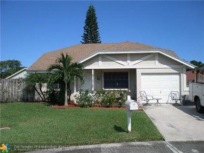 Sunrise Single Family Home Backup Contract-Call LA: 2826 NW 110th Ave