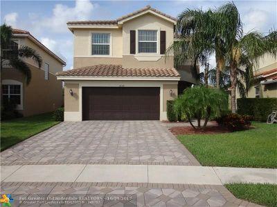Boynton Beach Single Family Home For Sale: 8199 Adrina Shores Way