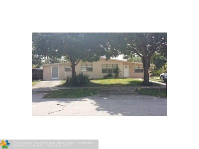 West Park Single Family Home For Sale: 3400 SW 37th St