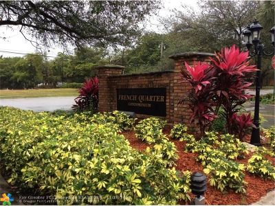 Plantation Condo/Townhouse For Sale: 330 NW 69th Ave #292