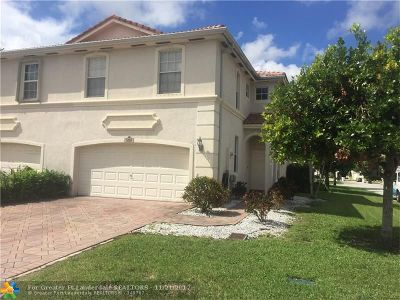 Coconut Creek Condo/Townhouse For Sale: 5197 Meadow Oaks Dr #5197