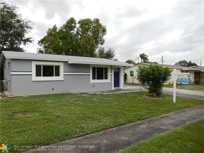 Cooper City Single Family Home Backup Contract-Call LA: 9452 SW 51st Ct