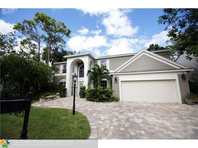 Coral Springs Single Family Home Backup Contract-Call LA: 7501 Red Bay Pl