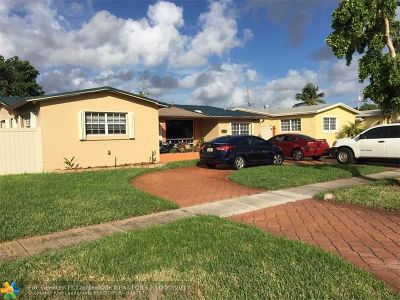 Miramar Single Family Home For Sale: 3508 Island Dr