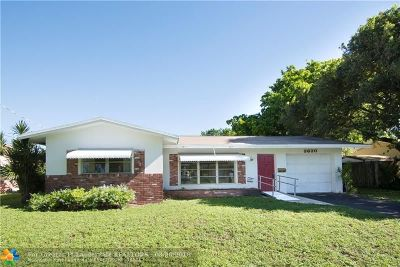Oakland Park Single Family Home Backup Contract-Call LA: 3630 NW 17th Ter