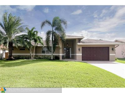 Plantation Single Family Home For Sale: 11340 NW 22nd St