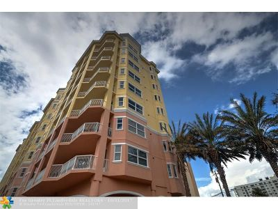 Pompano Beach Condo/Townhouse For Sale: 1395 S Ocean Blvd #203