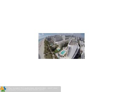 Miami Beach Condo/Townhouse For Sale: 100 Lincoln Rd #809