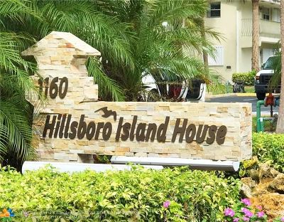 Hillsboro Beach Condo/Townhouse For Sale: 1160 Hillsboro Mile #101