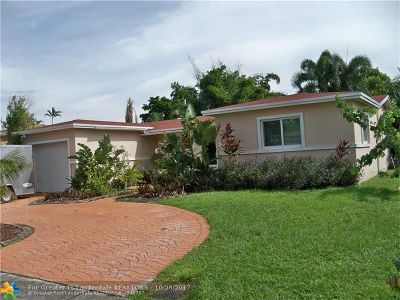 Margate Single Family Home For Sale: 208 NW 79th Ter