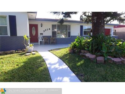 Lauderdale Lakes Single Family Home Backup Contract-Call LA: 3378 NW 22nd St