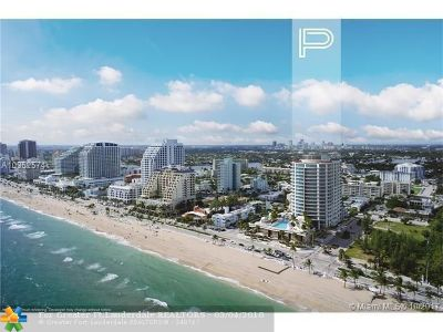 Fort Lauderdale Condo/Townhouse For Sale: 701 N.fort Lauderdale Beach #1404