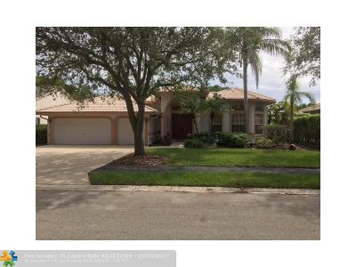 Coral Springs Single Family Home For Sale: 10756 NW 55th St