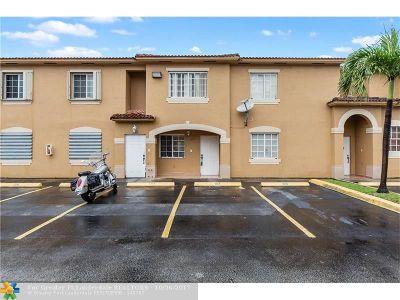 Hialeah Condo/Townhouse Backup Contract-Call LA: 8090 W 28th Ct #103
