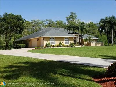 Lake Worth Single Family Home For Sale: 6037 Reynolds Rd