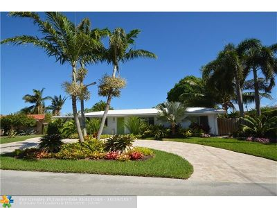 Fort Lauderdale FL Single Family Home Sold: $625,000
