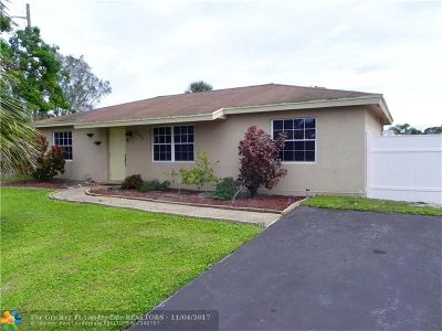 Boca Raton Single Family Home For Sale: 9650 Colorado Ct