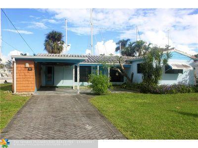 Fort Lauderdale Single Family Home For Sale: 1013 Mandarin Isle