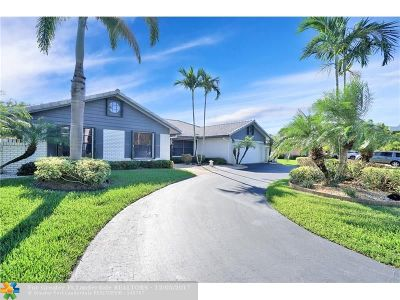Coral Springs Single Family Home For Sale: 493 NW 107th Ter