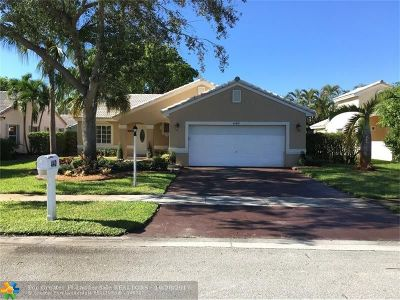 Pembroke Pines Single Family Home For Sale: 440 NW 188th Ter