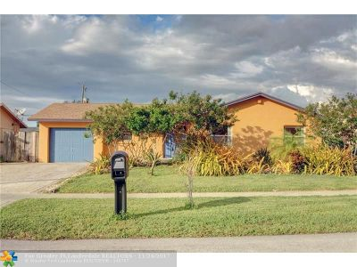 Lauderhill Single Family Home Backup Contract-Call LA: 8621 NW 45th Ct