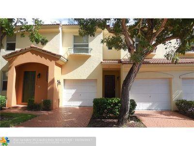 Deerfield Beach Condo/Townhouse For Sale: 2966 Deer Creek Country Club Blvd #2966