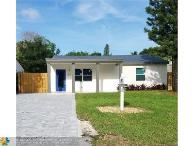 Fort Lauderdale Single Family Home For Sale: 1520 NW 1st Avenue