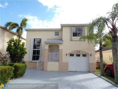 Davie Single Family Home For Sale: 4240 SW 72nd Way