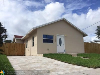 Miami Single Family Home For Sale: 4228 NW 1st Ave