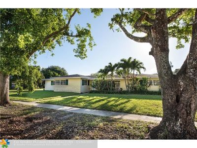 Plantation Single Family Home For Sale: 600 NW 66th Ave