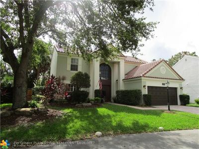 Coral Springs Single Family Home Backup Contract-Call LA: 7500 Live Oak Drive