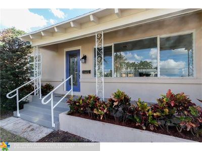 Delray Beach Single Family Home For Sale: 16 N Swinton Circle