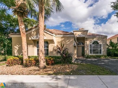 Parkland Single Family Home For Sale: 6735 NW 75th Pl