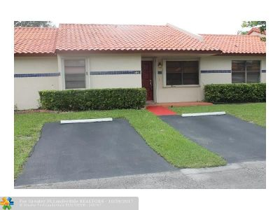 Cooper City Condo/Townhouse For Sale: 5911 SW 112th Way #5911