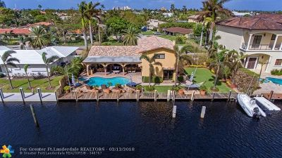 Lauderdale By The Sea Single Family Home For Sale: 1484 E Terra Mar Dr