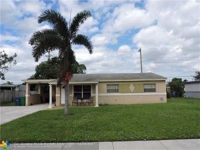 Lauderhill Single Family Home Backup Contract-Call LA: 3871 NW 4th Pl
