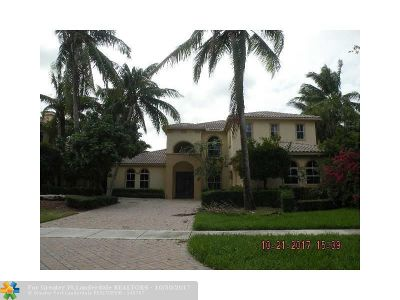 Boca Raton Single Family Home For Sale: 17585 Middlebrook Way