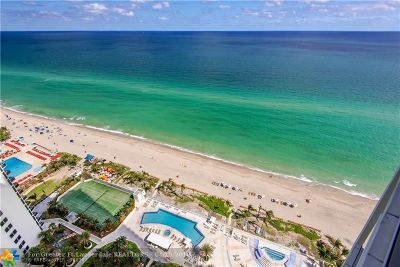 Sunny Isles Beach Condo/Townhouse For Sale: 19111 Collins Ave #2607