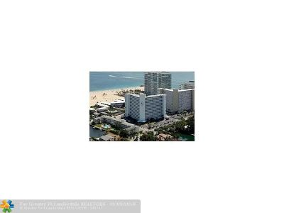 Fort Lauderdale Condo/Townhouse For Sale: 1900 S Ocean Dr #308