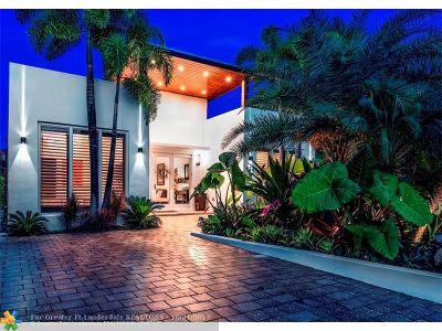 Colee Hammock, Colee Hammock 1-17 B, Las Olas, Las Olas By The River, Las Olas Isles, Las Olas Park Corr Single Family Home For Sale: 612 Flamingo Dr