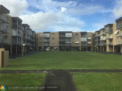 Broward County Condo/Townhouse For Sale: 1600 Tallwood Ave #306