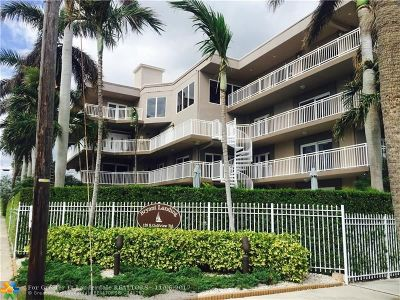 Lake Worth Condo/Townhouse For Sale: 129 S Golfview Rd #8