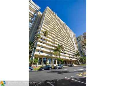 Fort Lauderdale Condo/Townhouse Backup Contract-Call LA: 4300 N Ocean Blvd #2F