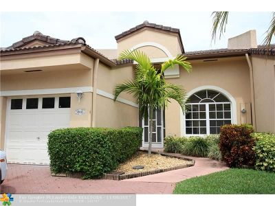Broward County Condo/Townhouse For Sale: 9905 Malvern Dr #9905