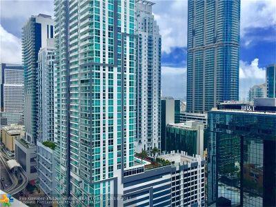 Miami Condo/Townhouse For Sale: 1250 S Miami Ave #2504