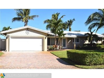 Fort Lauderdale Single Family Home For Sale: 1467 NE 56th Ct